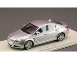 Luxury LX10105 BUICK REGAL QUICK 2011 SILVER METALLIC 1:43 Modellino