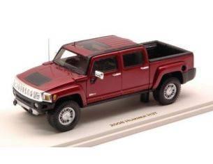 Luxury LX10130 HUMMER H3T 2008 SONOMA RED MET.1:43 Modellino