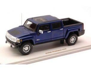 Luxury LX10131 HUMMER H3T 2008 ALL TERRAIN BLUE 1:43 Modellino