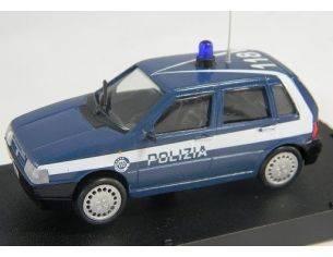 Giocher U03 FIAT UNO 4 PORTE POLIZIA 1/43 Modellino