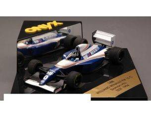 Onyx OX0188 WILLIAMS D.HILL 1994 TEST 1:43 Modellino