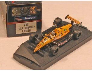 Onyx 0220 LOLA DURACELL RAUL BOESEL n.5 1/43 Modellino