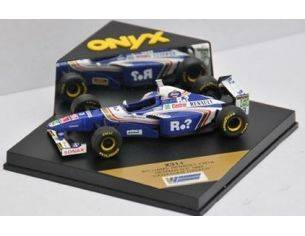Onyx 0311 WILLIAMS RENAULT FW19 CANADIAN DRIVE Modellino