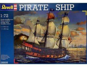 Revell RV5605 PIRATE SHIP KIT 1:72 Modellino