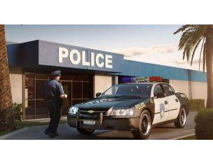 Revell RV7068 CHEVY IMPALA POLICE CAR 2005 KIT 1:25 Modellino