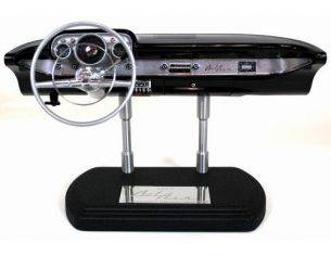 GMP Models G0605102 CHEVY BEL AIR DASHB BLACK 1957 1/6 Modellino