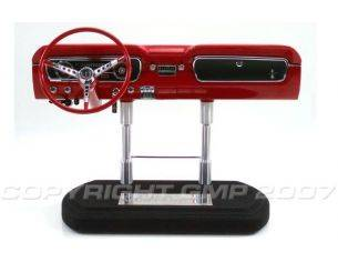 GMP Models G0605202 MUSTANG DASHBOARD RED 1965 1/6 Modellino