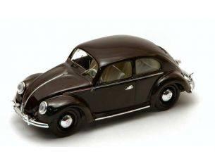 Rio RI4195 VW 1200 DE LUXE 1953 BROWN 1:43 Modellino