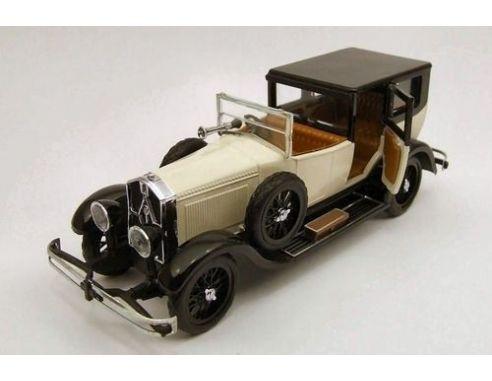 Rio Modellino ISOTTA FRASCHINI 8A 1924 BLACK//WHITE 1:43 Auto dEpoca Die Cast