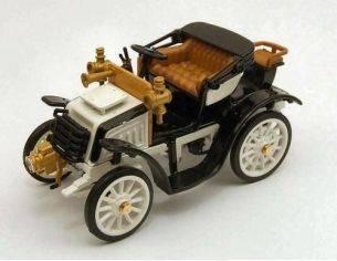 Rio 4276 FIAT 8CV 1901 OPEN WHITE 1/43 Modellino