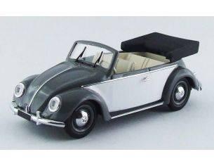 Rio RI4435 VW CABRIO KARMANN 1949 GREY/WHITE 1:43 Modellino