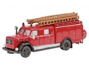 Schuco 24820 MAGIRUS-DEUTZ LF 16 FIRE TRUCK 1/87 Modellino