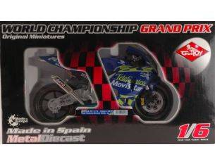 Guiloy GY16241 HONDA MOTO GP D.KATOH '03 SCALA 1:6 Modellino