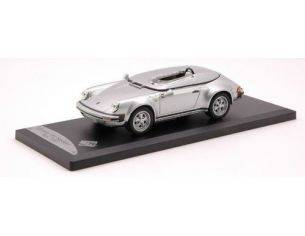 Solido SL143225 PORSCHE 911 SPEEDS.RACE'57 SILV.1:43 Modellino