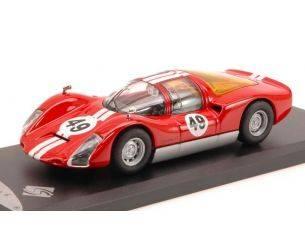 Solido SL143412 PORSCHE 906 CARRERA 6 N.49 1965 RED 1:43 Modellino