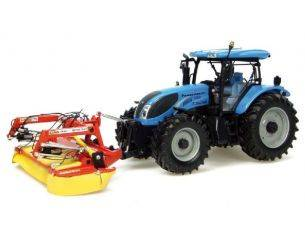 Universal Hobbies UH7107 LANDINI POWERMASTER 220 WITH LIFT + FELLA SM310 1:32 Modellino