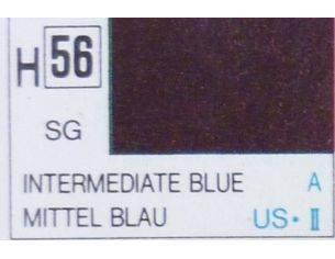 Gunze GU0056 INTERMEDIATE BLUE SEMI-GLOSS  ml 10 Pz.6 Modellino