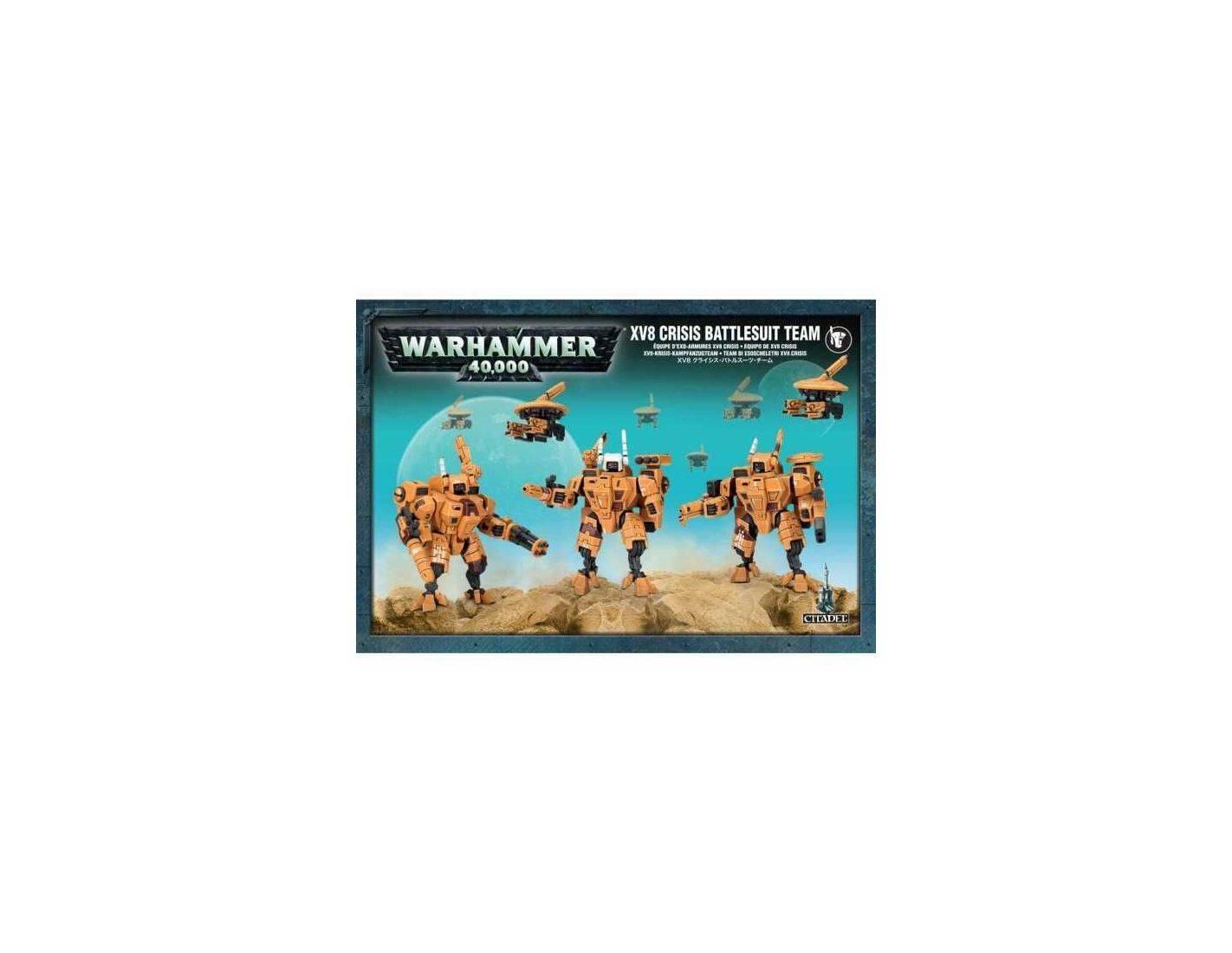 Games Workshop Warhammer 56-07 TEAM DI ESOSCHELETRI XV8 CRISIS Workshop Modellino