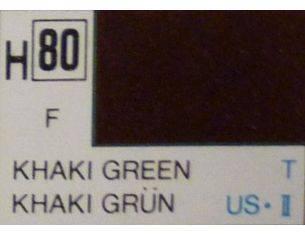 Gunze GU0080 KHAKI GREEN MATT ml 10 Pz.6 Modellino