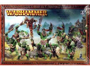 Games Workshop Warhammer 89-19 ORCHI SELVAGGI WARHAMMER Personaggi Citadel
