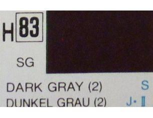 Gunze GU0083 DARK GRAY SEMI-GLOSS ml 10 Pz.6 Modellino