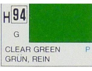 Gunze GU0094 CLEAR GREEN GLOSS ml 10 Pz.6 Modellino