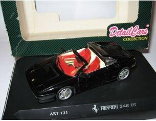 Detail Cars Ferrari 348 TS 1:43 Modellino Scatola rovinata