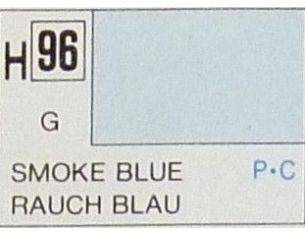 Gunze GU0096 SMOKE BLUE GLOSS ml 10 Pz.6 Modellino