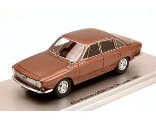 Kess Model KS43000251 ALFA ROMEO 2600 OSI DE LUXE 1965 BROWN MET. ED.LIM.PCS 250 1:43 Modellino