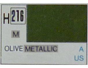 Gunze GU0216 OLIVE METALLIC ml 10 Pz.6 Modellino