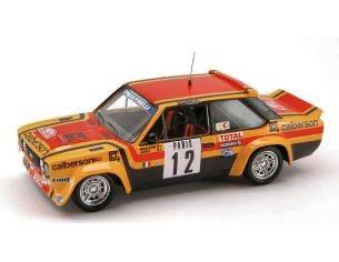 Trofeu TF1411 FIAT 131 ABARTH N.12 7th MONTE CARLO 1980 M.MOUTON-A.ARRII 1:43 Modellino