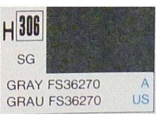 Gunze GU0306 GRAY SEMI-GLOSS ml 10 Pz.6 Modellino
