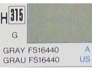Gunze GU0315 GREY GLOSS ml 10 Pz.6 Modellino