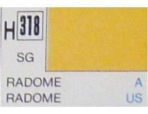 Gunze GU0318 RADOME SEMI-GLOSS ml 10 Pz.6 Modellino