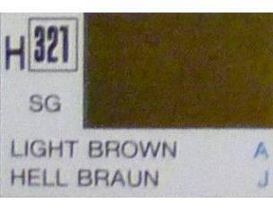 Gunze GU0321 LIGHT BROWN SEMI-GLOSS ml 10 Pz.6 Modellino