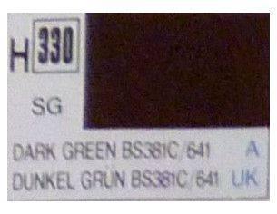 Gunze GU0330 DARK GREEN SEMI-GLOSS ml 10 Pz.6 Modellino