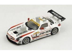 Spark Model SA069 MERCEDES SLS AMG GT3 N.6 2nd MACAU GP GT CUP 2014 R.VAN DER ZANDE  1:43 Modellino