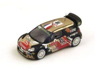 Spark Model S4513 CITROEN DS3 WRC N.18 47th MONTE CARLO 2015 S.CHARDONNET-DE LA HAYE 1:43 Modellino