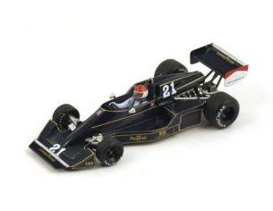 Spark Model S4046 WILLIAMS FW05 M.LECLERE 1976 N.21 13th SOUTH AFRICAN GP 1:43 Modellino