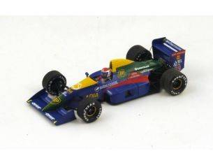 Spark Model S2976 LOLA LC89 E.BERNARD 1989 N.29 11th FRENCH GP 1:43 Modellino