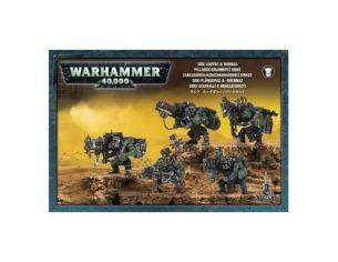 Games Workshop Warhammer 50-22  ORKI SCIAKALLI E BRUCIATORIZTI