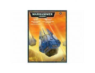 Games Workshop Warhammer 48-27 CAPSULA DI ATTERRAGGIO DEGLI SPACE MARINE