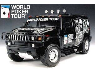 Highway 61 19001 HUMMER H2 WORLD POKER TOUR 1/18 Modellino