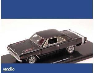 Highway 61 HGW43000 DODGE DART GTS 1968 GLOSS BLACK 1:43 Modellino