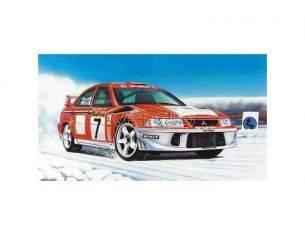 Heller HL80197 MITSUBISHI LANCER EV. VI WRC KIT AUTO 1/43 Modellino