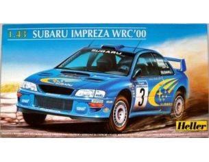 Heller HL80194 SUBARU IMPREZA WRC'00 KIT AUTO 1/43 Modellino