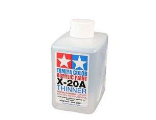 TAMIYA COLOR ACRYLIC PAINT X-20 A THINNER Modellino