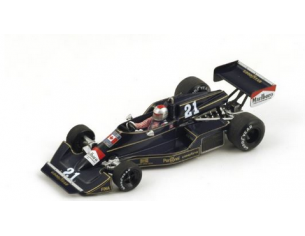 Spark Model S4044 WOLF WILLIAMS FW05 M.ANDRETTI 1976 N.21 INTERNATIONAL TROPHY 1:43 Modellino