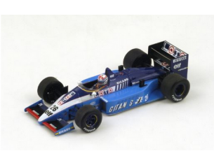 Spark Model S4266 LIGIER JS27 P.ALLIOT 1986 N.28 6th MEXICAN GP 1:43 Modellino