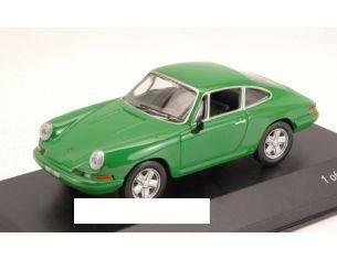 White Box WB040 PORSCHE 911 T 1968 GREEN 1:43 Modellino